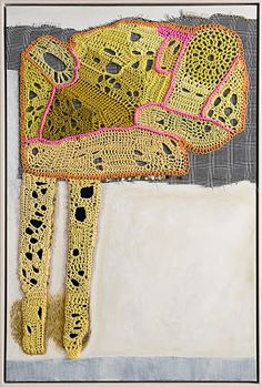 Tracy Potts, textile artist via Kathryn Clark