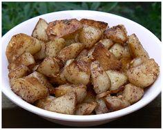 Le palais gourmand: Pommes de terre grillées à la Libanaise