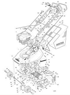 Hayter Harrier 41 - 319R001001 Spare Parts Machine diagrams Schematics Shoulders of shoreham www.shouldersofshoreham.co.uk