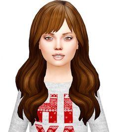 Florence Hair conversion at Simiracle via Sims 4 Updates