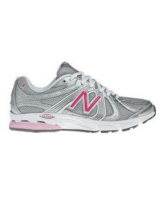 Take a look at this Gray \u0026 Pink 615 Walking Shoe - Women by New Balance
