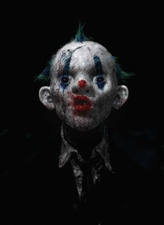 Joker's clown masked men by Rob Bliss