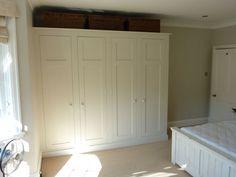 fitted seaside look bedroom cupboard wardrobe