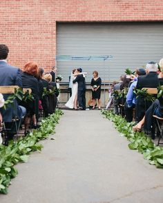April 2013 wedding for Hilary and Arthur at Big Daddy's Antiques Los Angeles showroom.