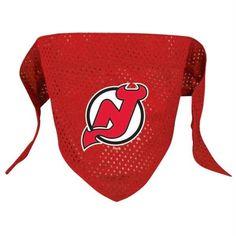 New Jersey Devils Mesh Pet Bandana