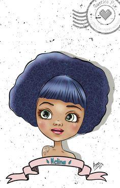 #cute # ilustração personalizada #photooftheday