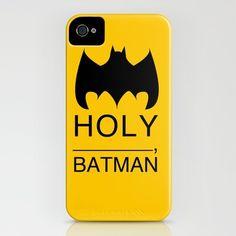 Holy Batman iPhone Case