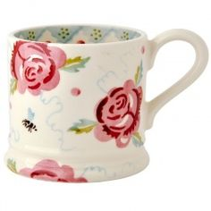 Emma Bridgewater Baby Mug Rose & Bee