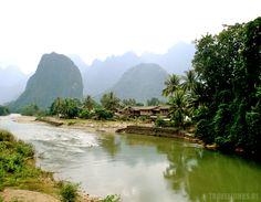 Vang Vieng karstgebergte