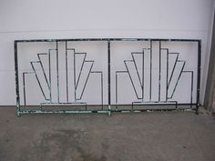 art deco fence - Google Search