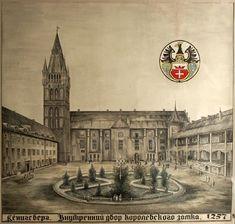 Königsberg - Внутренний двор Королевского замка