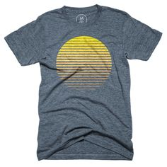 """Sunrise"" designed by Matt McDaniel. Wake up early with this summery gradient."
