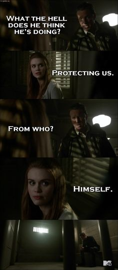 Teen Wolf - Quote - What the hell does he think hes doing?