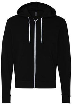 Kotis Design- Bella+Canvas Unisex Poly Cotton Fleece Full Zip Hoodie