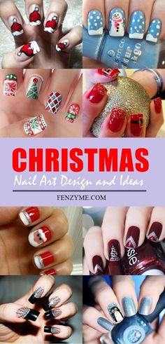 50 Cool Christmas Nail Art | Best Pictures