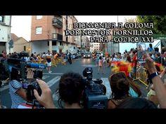 Bienvenida a Carlos Coloma campeón olímpico por Nestor Hornillos en Albe...
