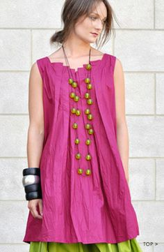 love the neckline. SHONMODERN.COM | Kaliyana: Summer - Sorrento
