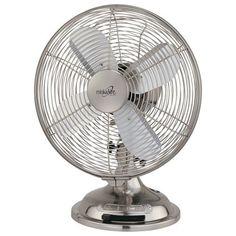 Brushed Nickel Oscillating Table Fan Minka Aire Table Fans Table Fans Fans