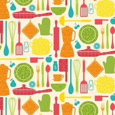 Galley Gadgets 3 fabric by wrapartist on Spoonflower - custom fabric