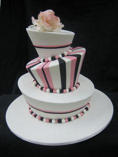► Pastel de boda divertido. #pasteles #boda