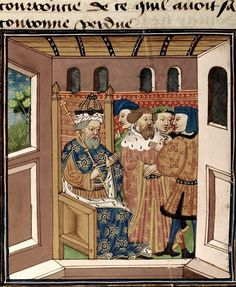 Charlemagne and his barons. Renaut de Montauban (or Les Quatre Fils Aimon). France, N. (Rouen?); 2nd quarter of the 15th century