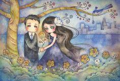 Spring Promise by Juri Ueda Art.