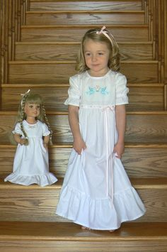Blue birds Heirloom Girls Nightgown size 6X to girls by OurLegacy, $42.95