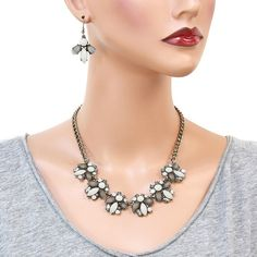 Don't let this gorgeous and sparkling necklace pass you by. The Spring and Summer brings weddings, proms and so many specialoccasions.Charlotte dresses up and