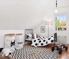 Check out how cute this toddler room is Tagged to us by @fancyhomesthlm #decorforkids for a chance to be featured!... - Home Decor For Kids And Interior Design Ideas for Children, Toddler Room Ideas For Boys And Girls