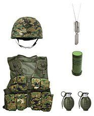Junior 'Combat Kit' Gift Set - Woodland Digital Camouflage -- Continue to the product at the image link.
