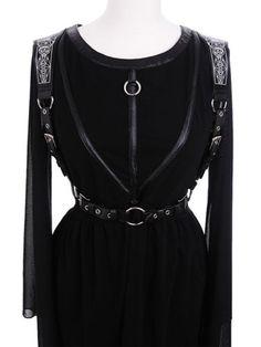 Restyle Steampunk Gothic Harness Mond Gürtel Rüstung Belt Moon Geometry Sailor in Kleidung & Accessoires, Damenmode, Blusen, Tops & Shirts | eBay