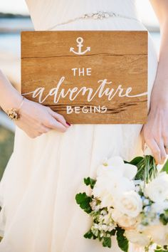 The adventure begins: http://www.stylemepretty.com/2014/06/03/coastal-glamour-a-nautical-inspired-photo-shoot/ | Photography: Natalie Franke - http://www.nataliefranke.com/