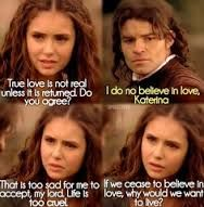 Katherine was so wise when she was human! Do you think she will go back to being nice? Serie Vampire Diaries, Vampire Diaries Quotes, Vampire Diaries The Originals, Tvd Quotes, Movie Quotes, Life Quotes, Kathrine Pierce, Kevin Williamson, Popular Book Series