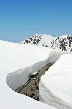Ruta Alpina Tateyama Kurobe al Norte de Japón