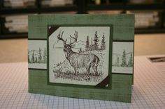 Plaid Deer by love2Bcreative - Cards and Paper Crafts at Splitcoaststampers