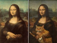 I Have Seen The Whole Of The Internet: Famous Paintings Improved By Cats