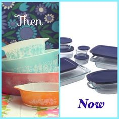 #Pyrex please bring back the fun dishes/bakeware! Vintage #Pyrex were a lot more fun than current Pyrex!!
