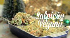 Salpicão Vegano Continuing our Christmas special, I will teach this vegan salpicão, which was a recipe very requested here. Go Veggie, Veggie Recipes, Diet Recipes, Vegetarian Recipes, Healthy Recipes, Vegan Recepies, Healthy Food, Best Diet Drinks, Dairy Free Recipes
