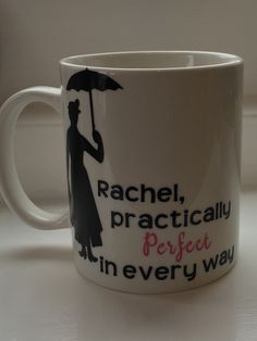 Personalised Mary Poppins quote mug x