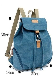 Hot Canvas Backpack For School Student Girls Stylish Fashion Women Vintage Satchel Rucksack Arcuate Shoulder Strap Backpack Cheap backpack fashion, Buy Quality fashion backpack directly from China good backpacks Suppliers: Good Canvas fashion bag suit for Fashion Bags, Fashion Backpack, Fashion Women, Stolz Wie Bolle, Mochila Jeans, Hiking Bag, Recycle Jeans, Denim Bag, Kids Bags