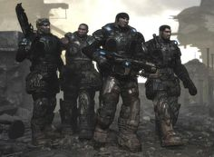 Damon Baird, Augustus Cole, Marcus Fenix and Dominic Santiago. Nobody else was tough enough to survive Delta Squad.