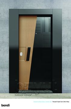 "*Model ""Bendi"" *Steel Security Door,  *Entrance Door"