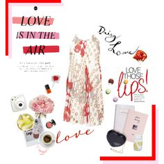 Love is in the air by soniafortunaofficial on Polyvore featuring moda, It Cosmetics, NARS Cosmetics, Sur La Table, ASOS and Daphne
