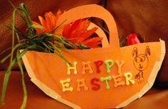 Lavoretti di Pasqua: bigliettini di carta facili da realizzare