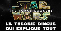 Si vous n'avez pas vu le film : NE LISEZ PAS CET ARTICLE.   Si vous l'avez vu on peut en discuter en MP.  Folle théorie ? Cette théorie dingue explique les incohérences de Star Wars Episode VII