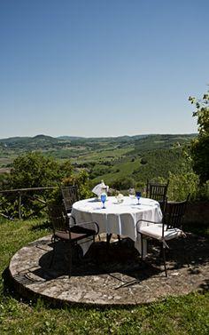 Gourmet Restaurant in Montefollonico  la Chiusa