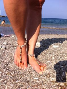 Elegance barefoot sandal by HIPPYANNE on Etsy, $28.00