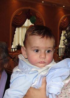 Half indian half white baby boy