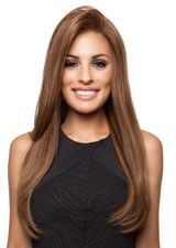 Glitzy 28Inch Silky Straight Remy Human Hair Lace Front Wig