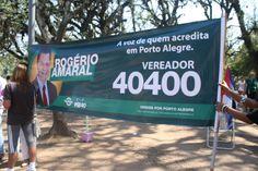 Campanha Rogério Amaral no Brique da Redenção (Dom, 02.09.2012) Foto: Jornalista Fátima Oliveira
